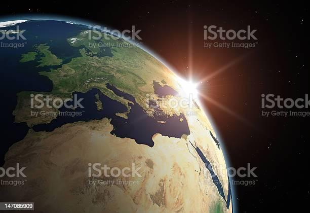 Planet Erdeeuropa Stockfoto und mehr Bilder von Abstrakt