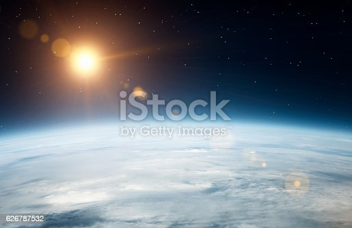 istock Planet earth from above 626787532