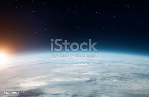 istock Planet earth from above 626787550