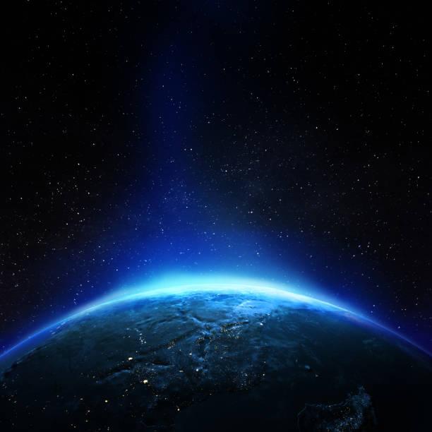 Planet Erde aus dem All – Foto