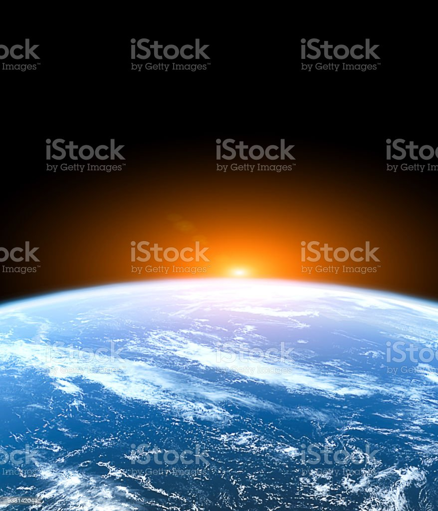 Planet Earth from the space royalty-free stock photo
