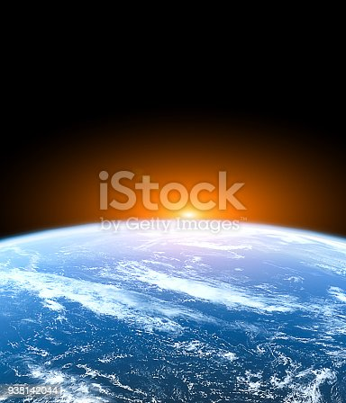 istock Planet Earth from the space 938142044