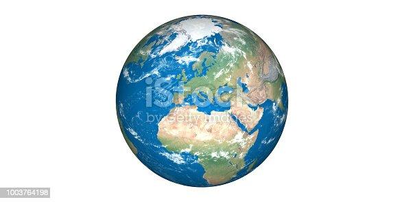 istock Planet Earth globe solar system 1003764198