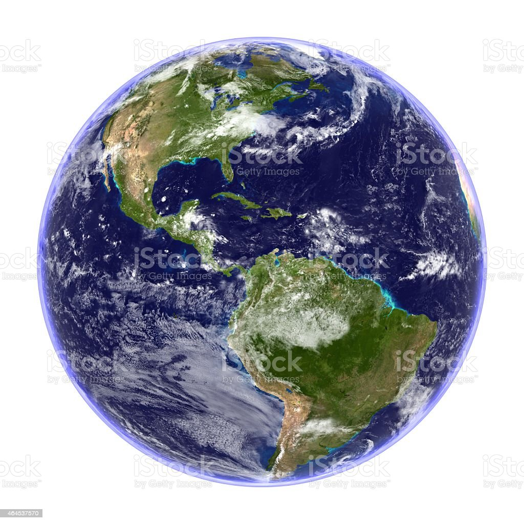 Planet Earth Isolated stock photo
