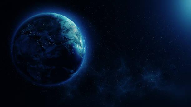planet earth - 카피 공간 뉴스 사진 이미지