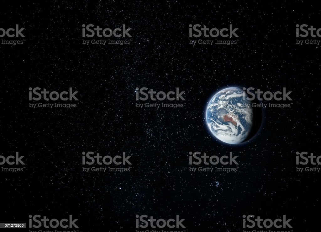 Planet Earth, view from space