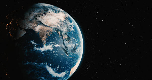planet earth with star backgrounds - globe zdjęcia i obrazy z banku zdjęć