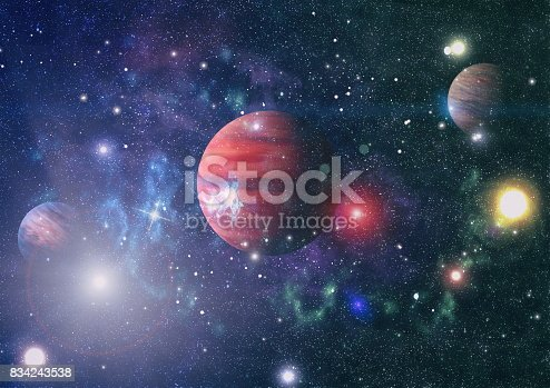 istock Planet - Elements of this Image Furnished by NASA 834243538