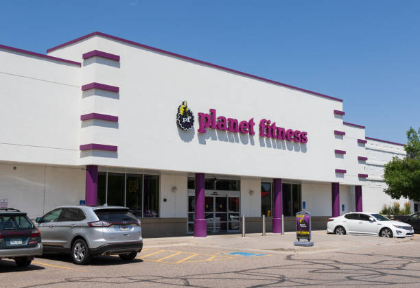 Planet Fitness in Loveland stock photo