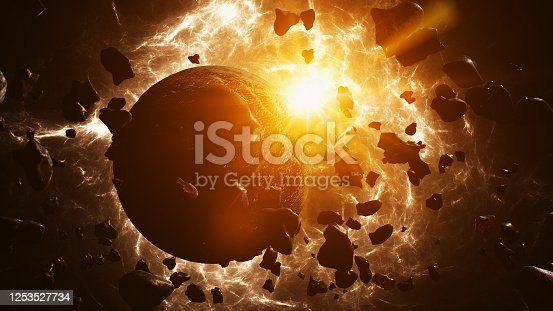 istock Planet formation 1253527734