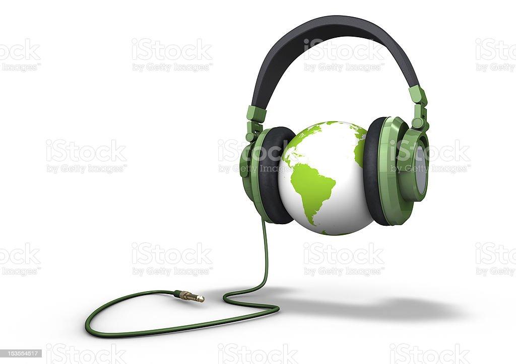 Planet Musik hören – Foto