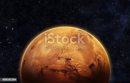 istock Planet Mars 489090394