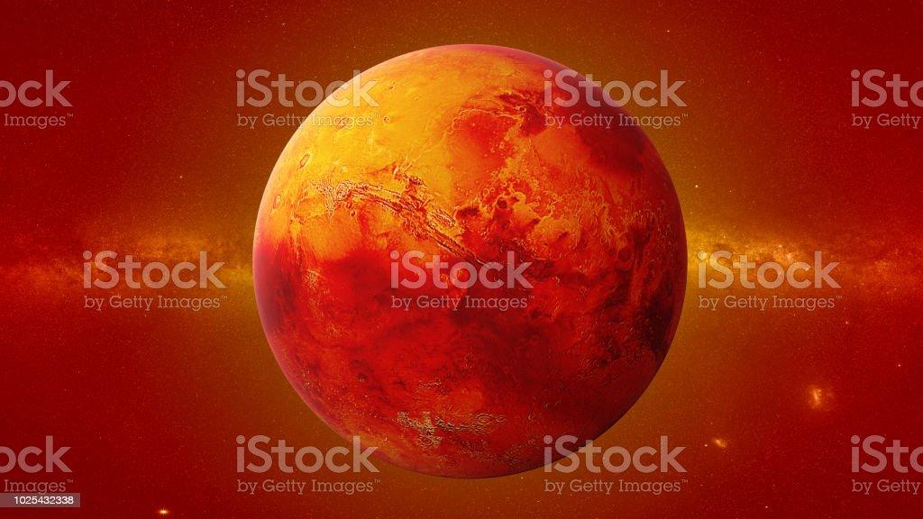 Planeta Marte El Cuarto Planeta Desde El Sol Planeta Del ...