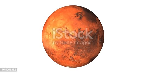 istock Planet mars the red planet 978568382