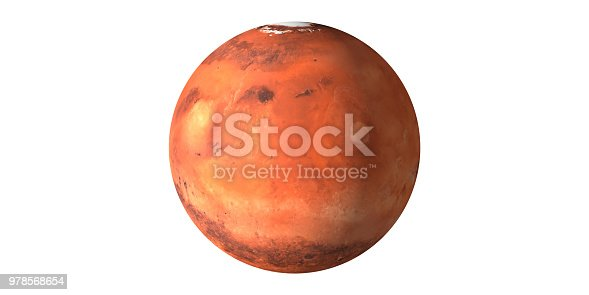 istock Planet mars the red planet 978568654
