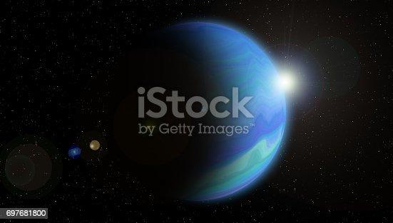 istock Planet neptune 697681800