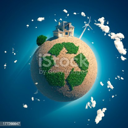 istock planet of recycling 177266647