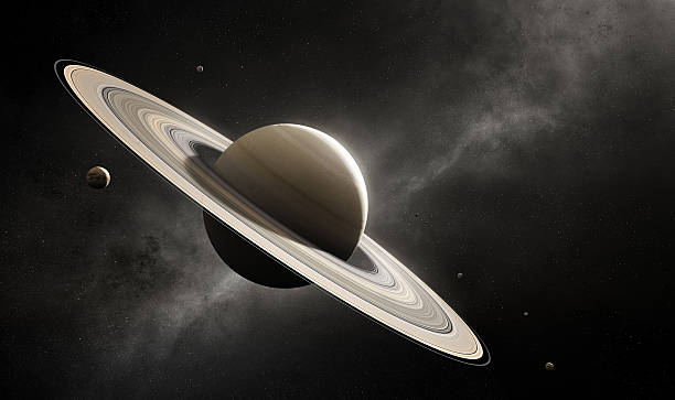Royalty free saturn pictures images and stock photos istock planet saturn with major moons stock photo altavistaventures Gallery