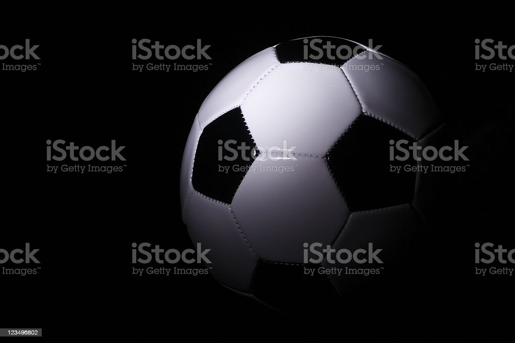 Planet Soccer ball royalty-free stock photo