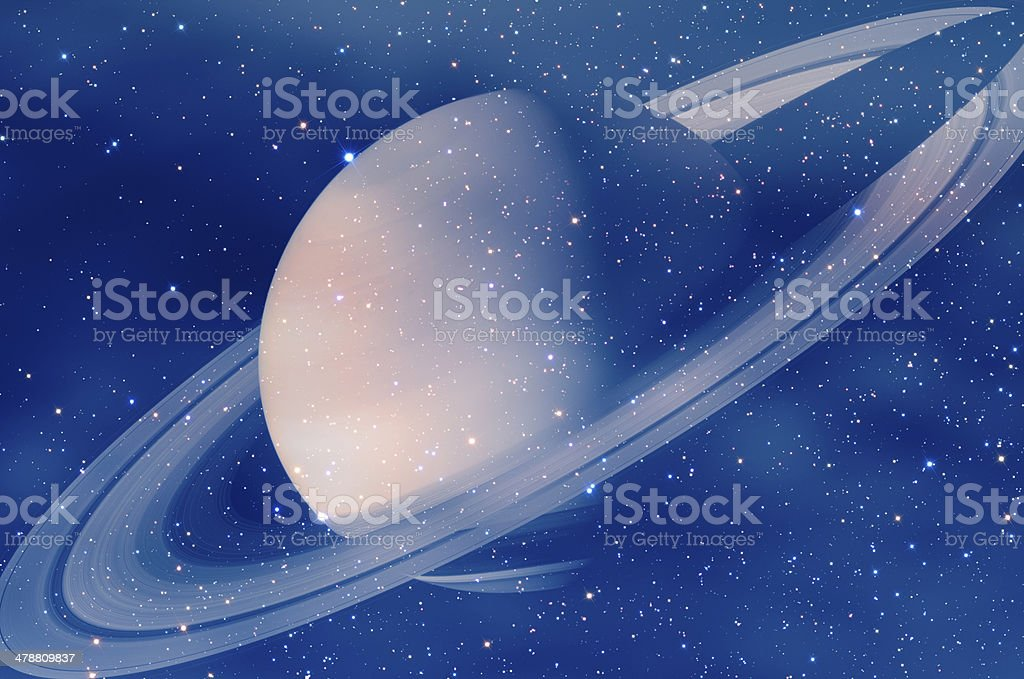 Planet System royalty-free stock photo