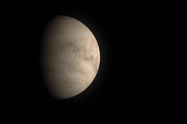 Planet Venus stock photo