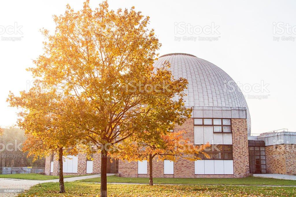 Planetarium at Berlin Prenzlauer Berg stock photo