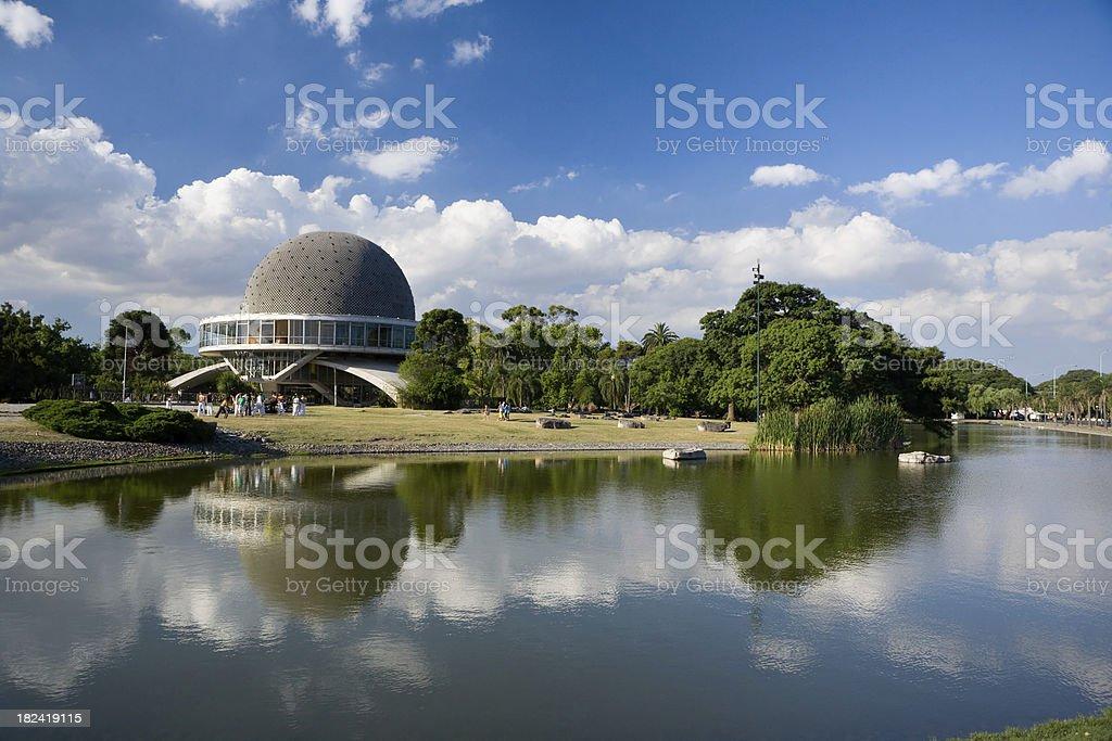 Planetarium of Buenos Aires stock photo
