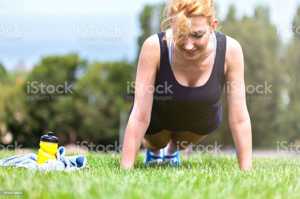 Plank core exercise foto de stock royalty-free