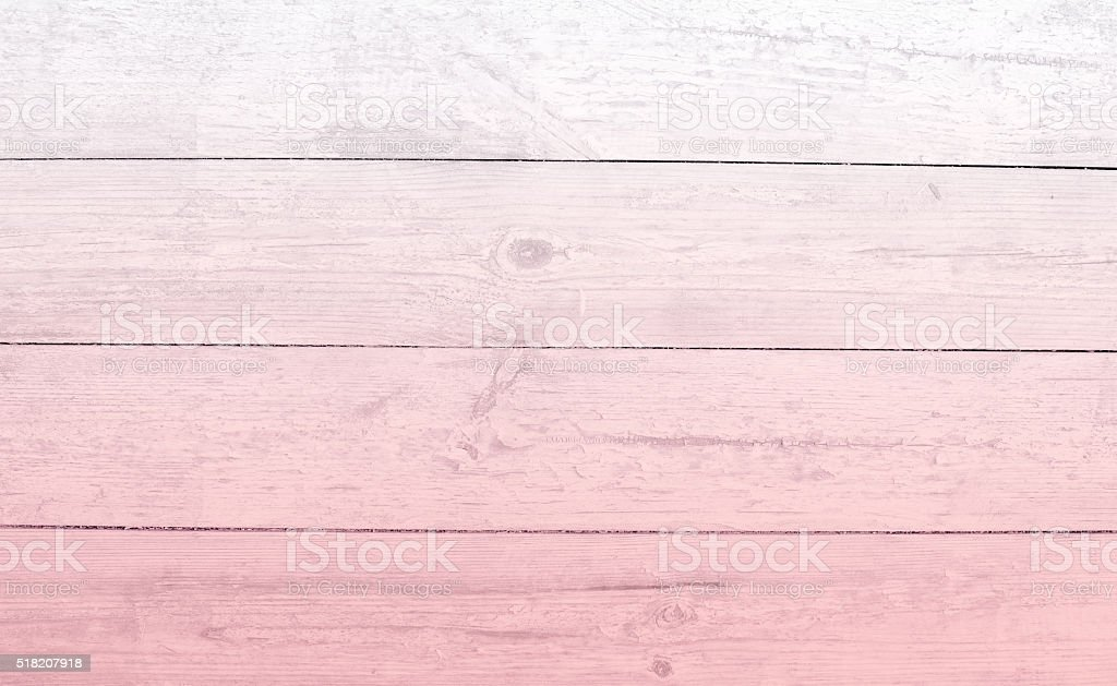 plank ombre  pale pink wood stock photo
