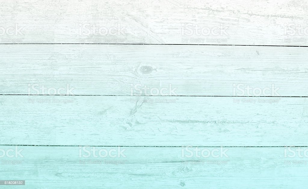 plank ombre  paletur quoise wood stock photo