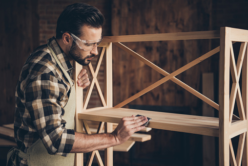 Plank panel wall unit wardrobe storage stand decorative creativi