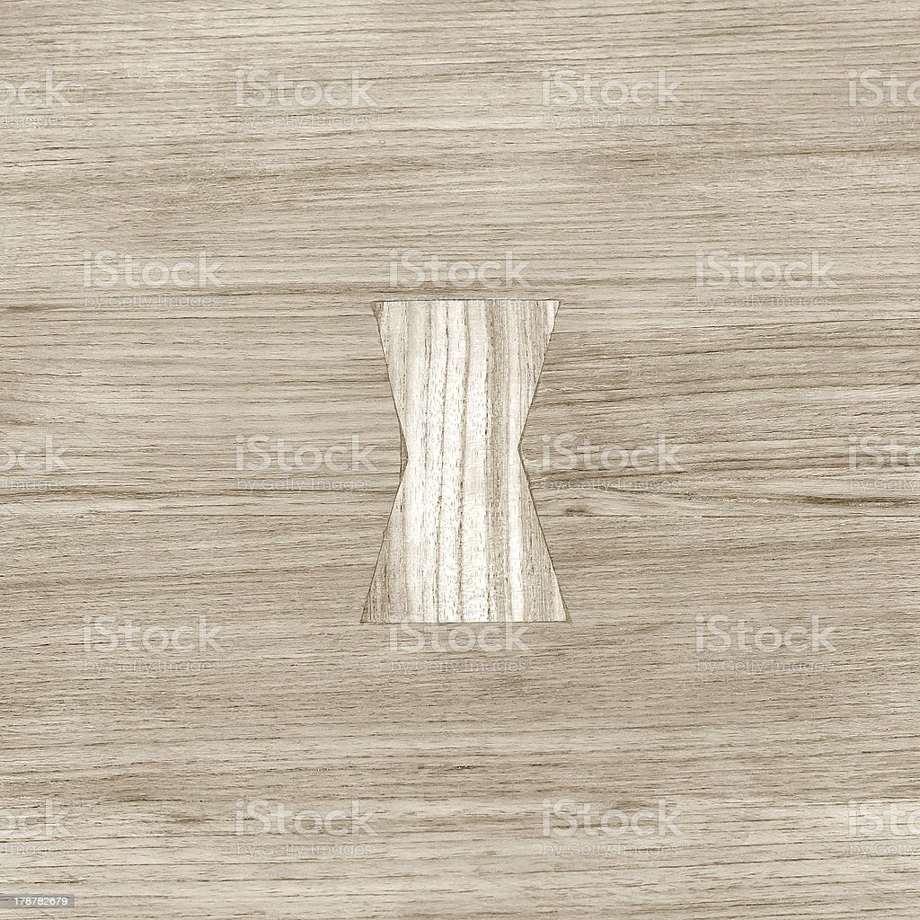 Plank royalty-free stock photo