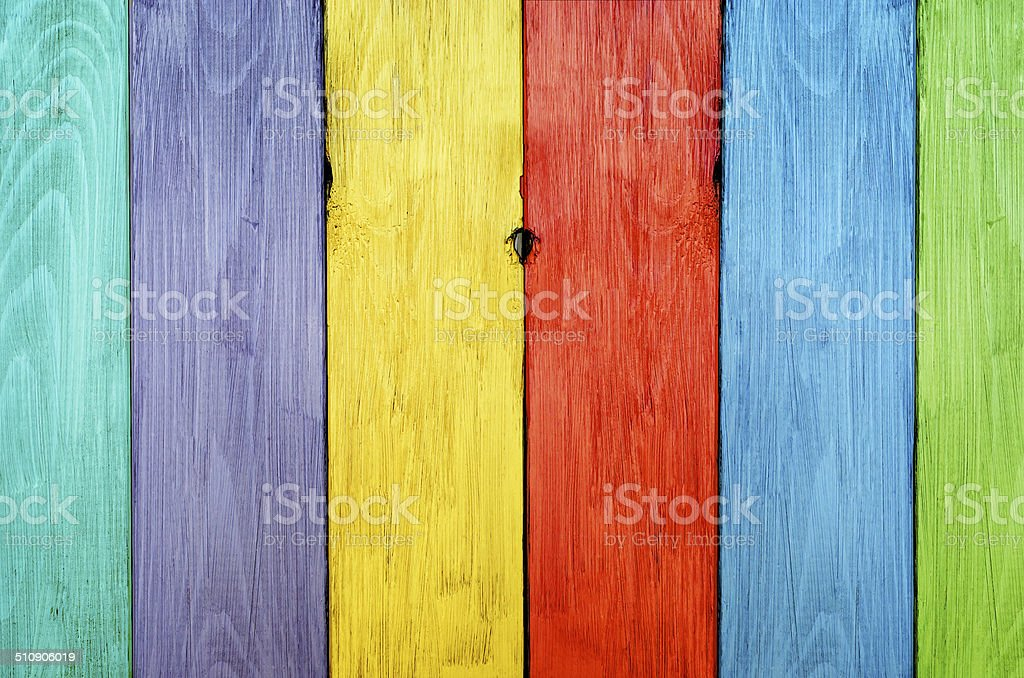 Planks in Different Hues stock photo