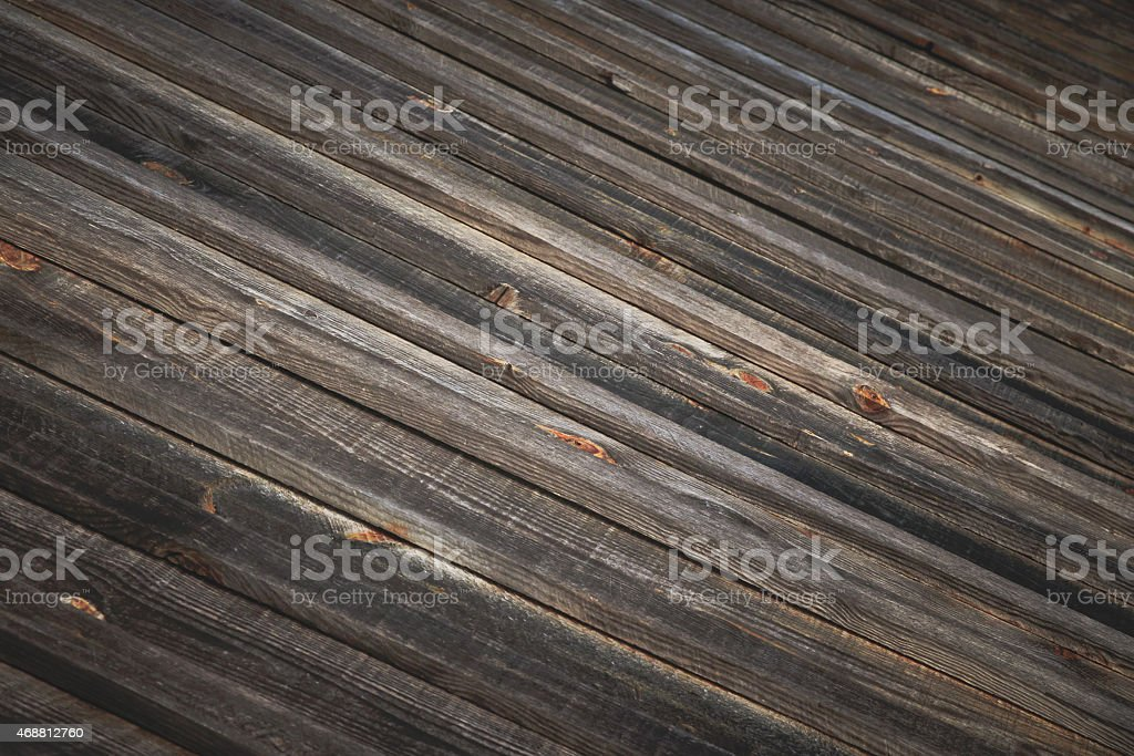 Planks of Weathered Barn Wood Diagonal Background Texture stock photo