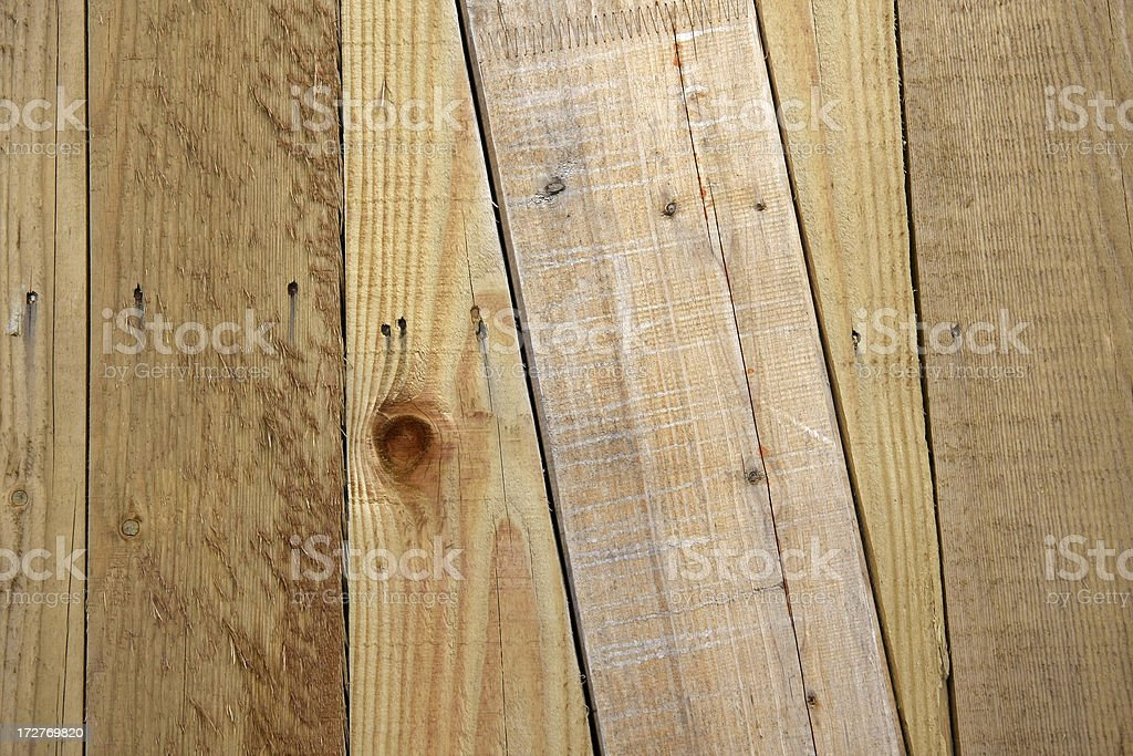 Planks royalty-free stock photo