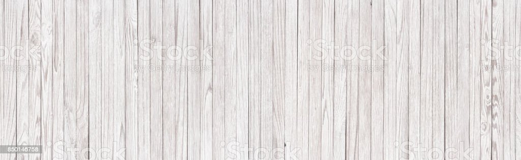 planks table painted white, blank background wooden shield. wood texture close-up stock photo