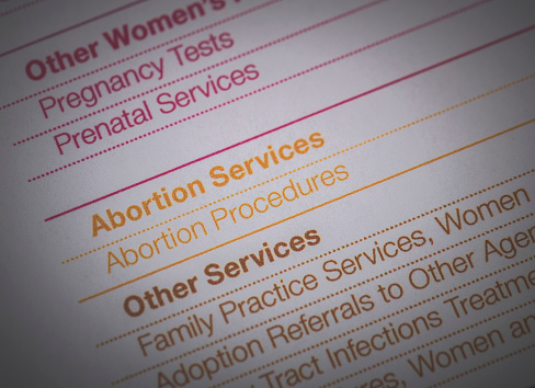 Planned Parenthood Document Stock Photo - Download Image Now