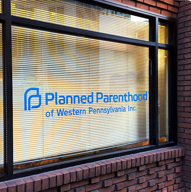 Planned Parenthood of Western Pennsylvania Location Pittsburgh Pittsburgh, USA - September 21, 2015   planned parenthood federation of america stock pictures, royalty-free photos & images