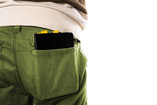 Planejador no bolso - foto de acervo