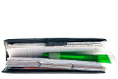 istock Planner with Pen 184940806