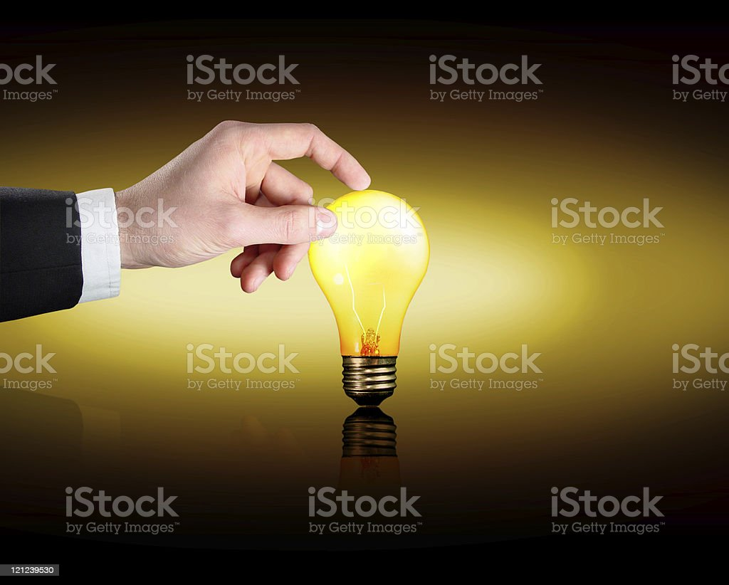 Planning an Idea royalty-free stock photo