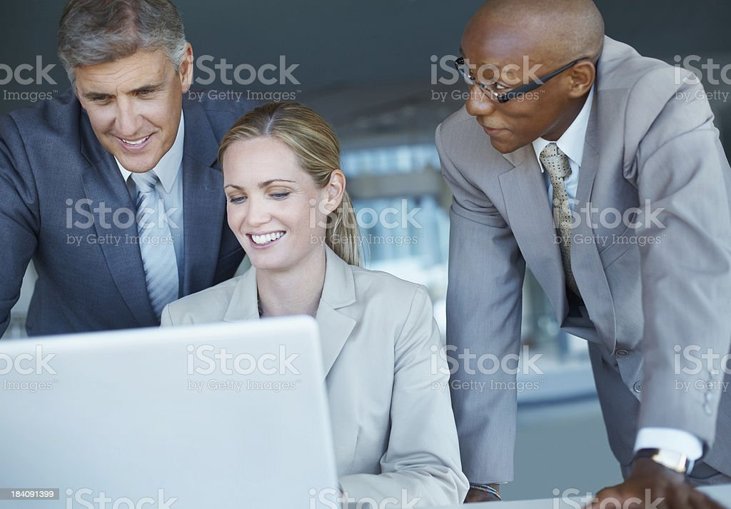 Planning business project royalty-free stock photo