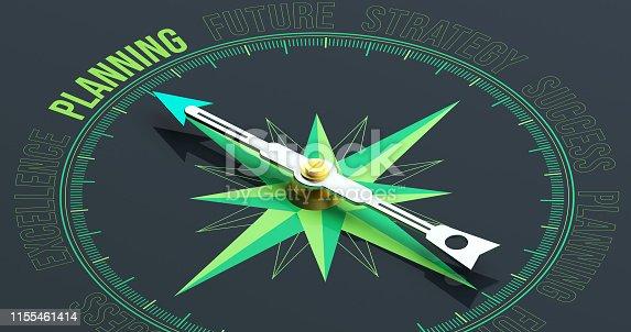 Planning Compass Concept 3D Rendering