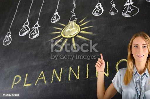 539247613istockphoto Planning Concept 493374800