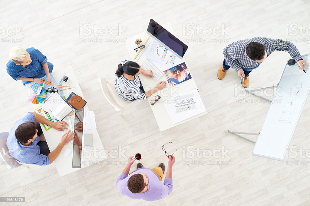 Planning design project stock photo