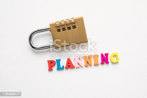 istock 2020 planning. Education, business, career and family concept 1184635171