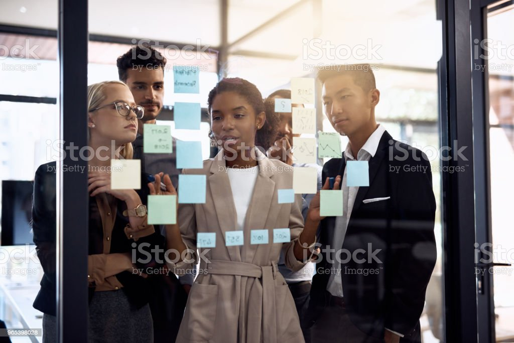 Planning for success royalty-free stock photo