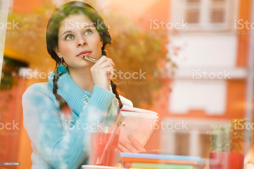Planning for tomorow royalty-free stock photo