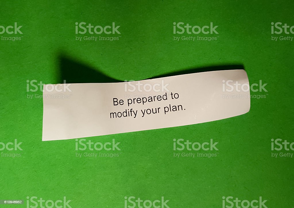 Planning fortune stock photo