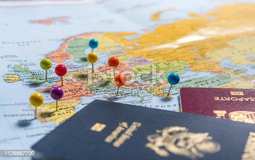 istock Planning Holidays 1129887720